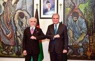 Afghanistan's Abdullah in Pakistan for talks on peace