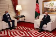 Afghans should not let peace opportunity to slip away, Khalilzad tells Ghani